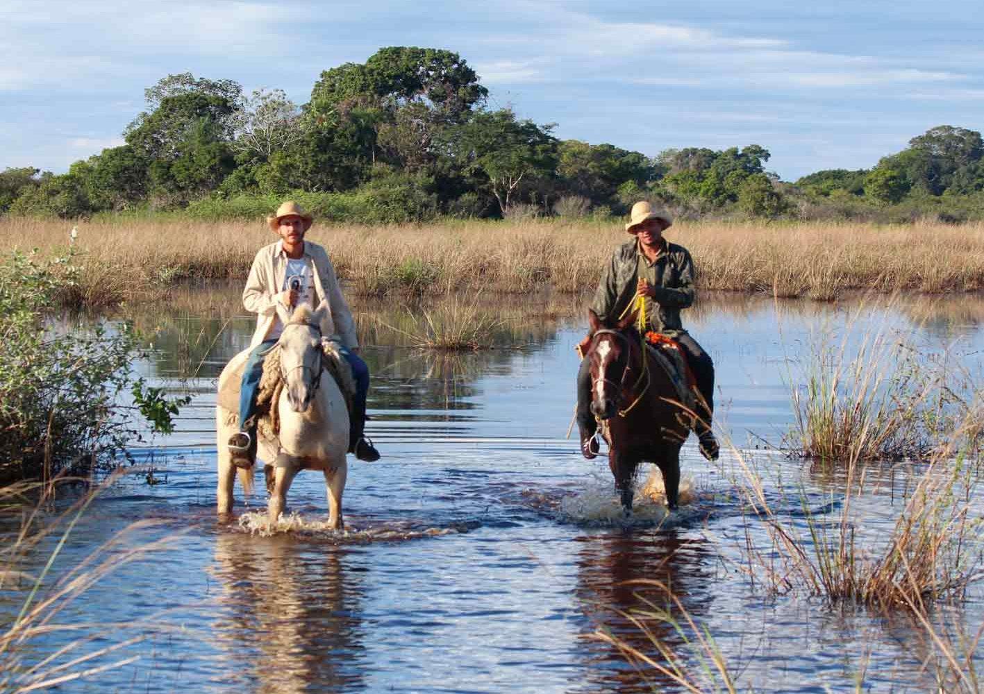Im Pantanal zu Fuss, mit dem Kanu oder per Pferd unterwegs