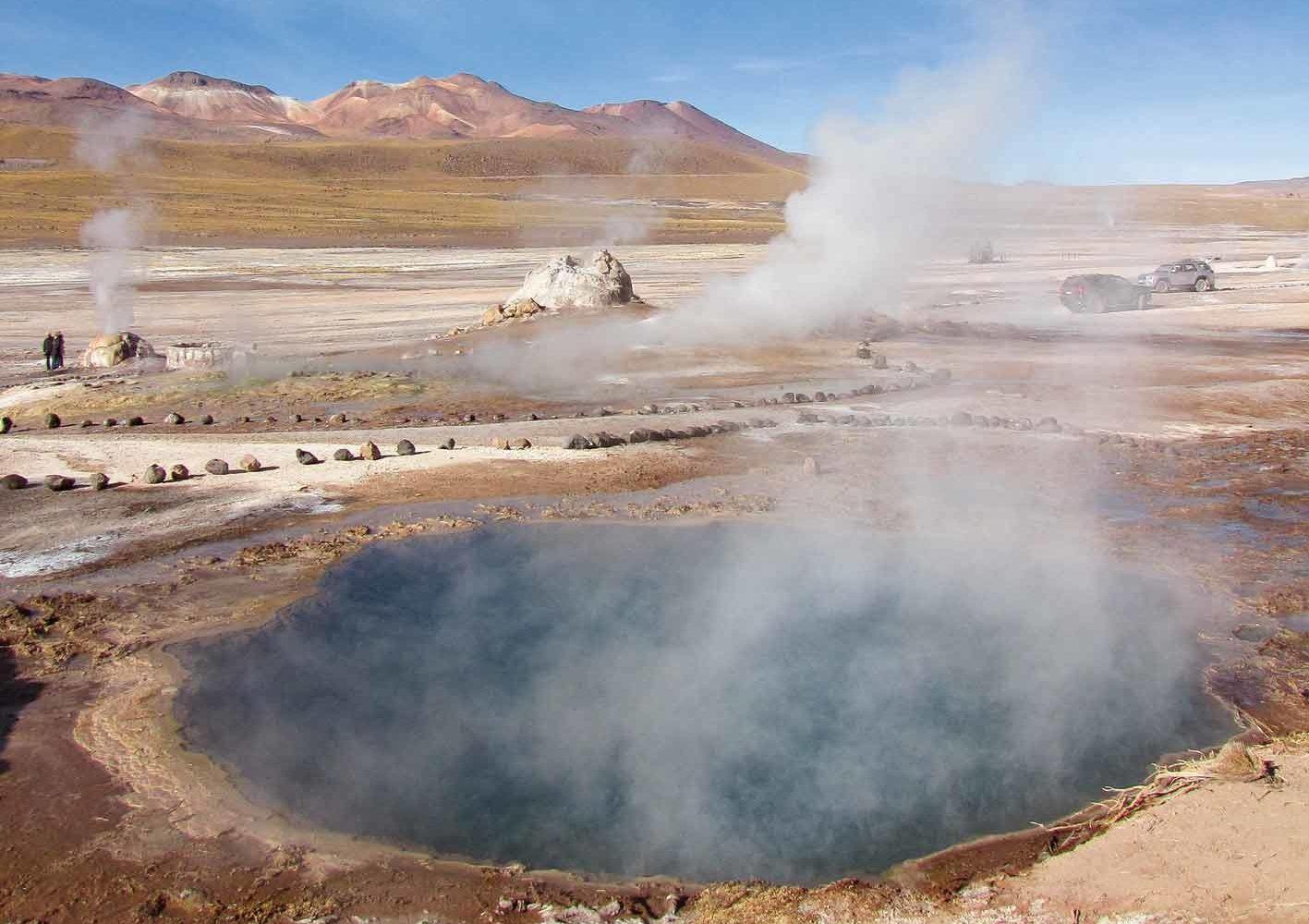 El Tatio-Geysire, Chile