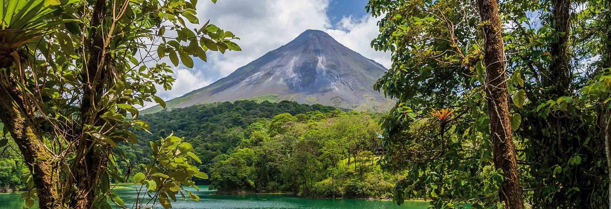 Vulkan Arenal, 1670 m, Costa Rica