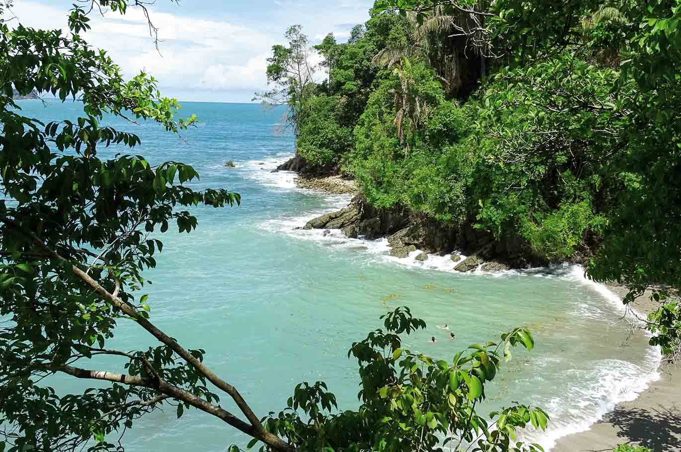 Bucht im Manuel Antonio-Nationalpark, Costa Rica