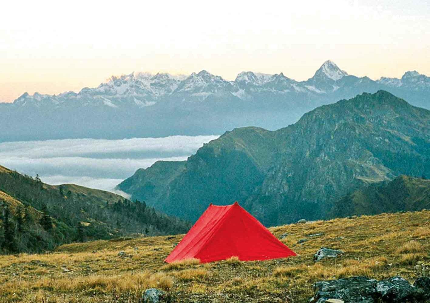 Ihr Camp am Kuari-Pass