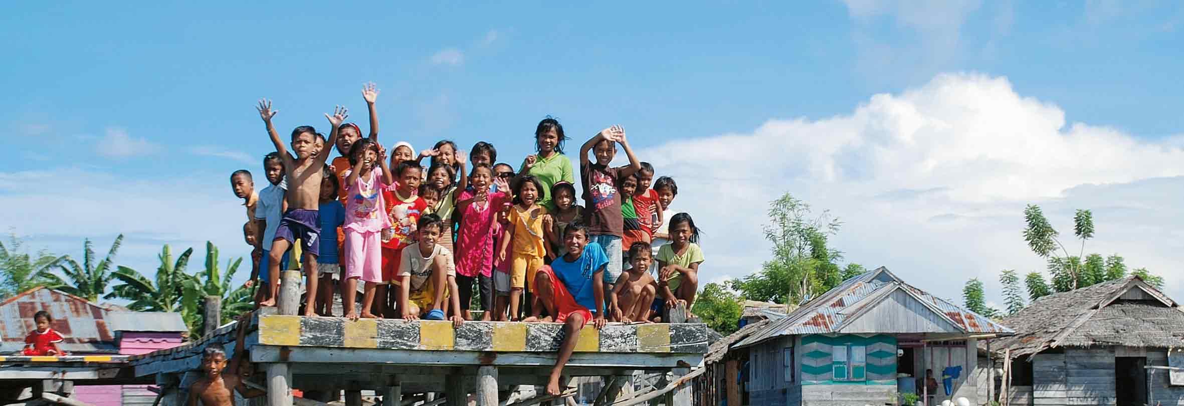 Herzliche Begrüssung in Indonesien