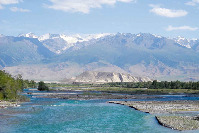 Hochebene im Tien Shan-Gebrige, Kirgisien