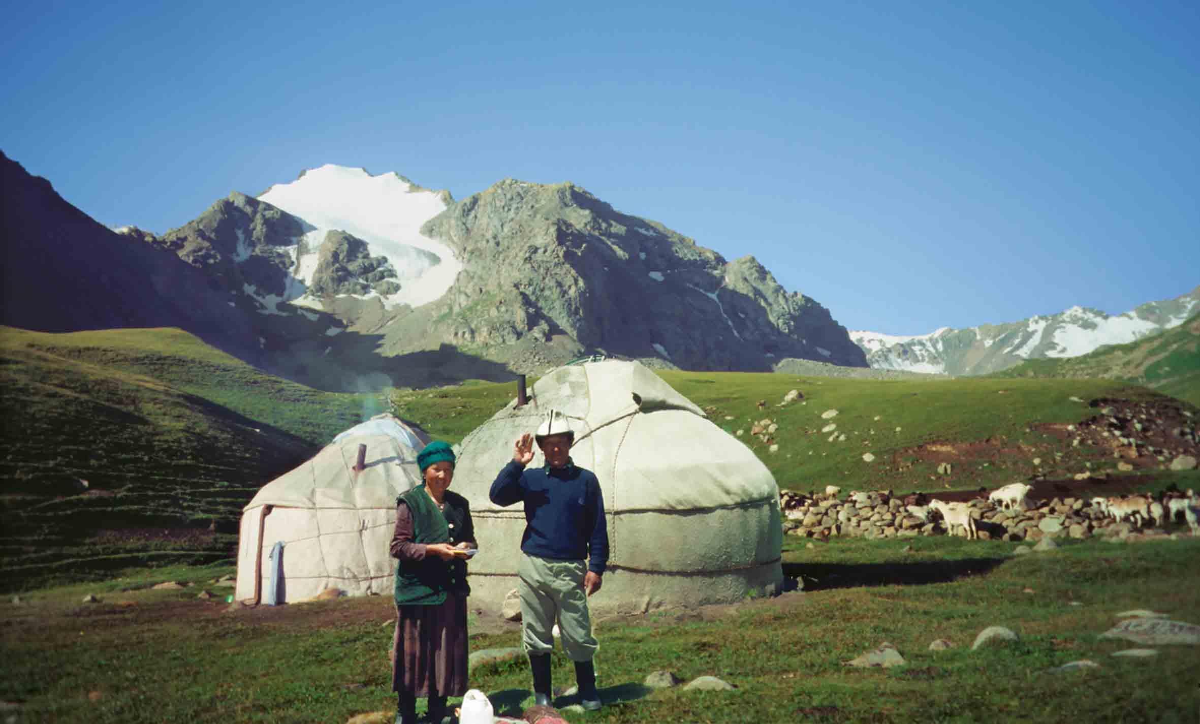 Yurte, Kirgisien