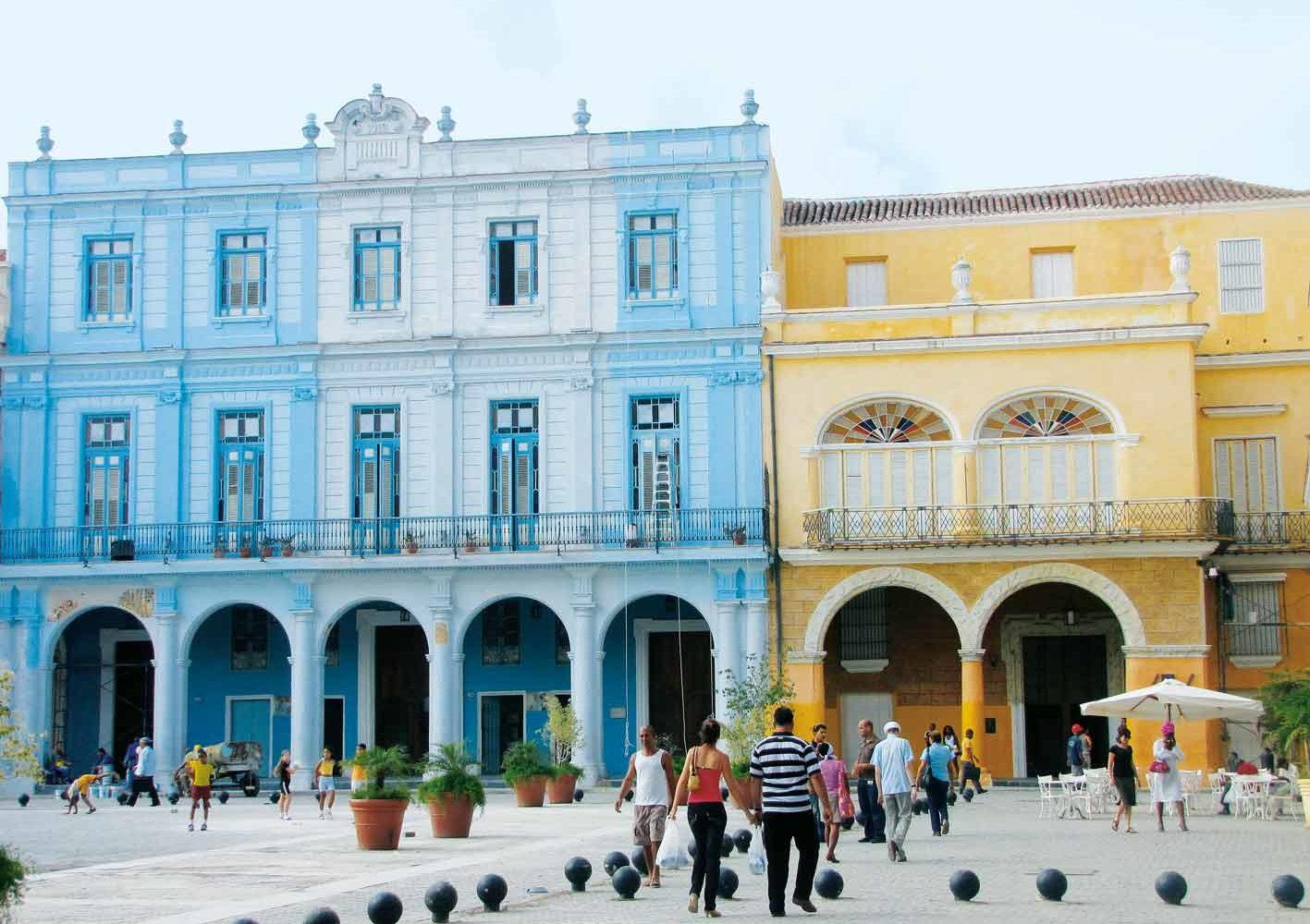 Havanna: Spaziergang durch die Hauptstadt Kubas, vorbei an kolonialen Gebäuden