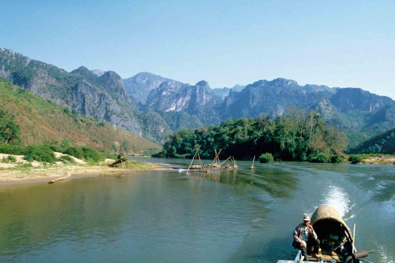 Bootsfahrt auf dem Nam Ou-Fluss
