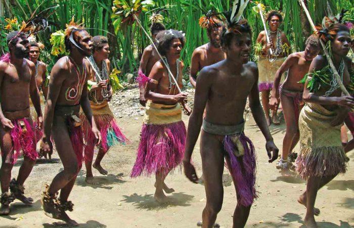 Small Nambas auf Malekula, Vanuatu