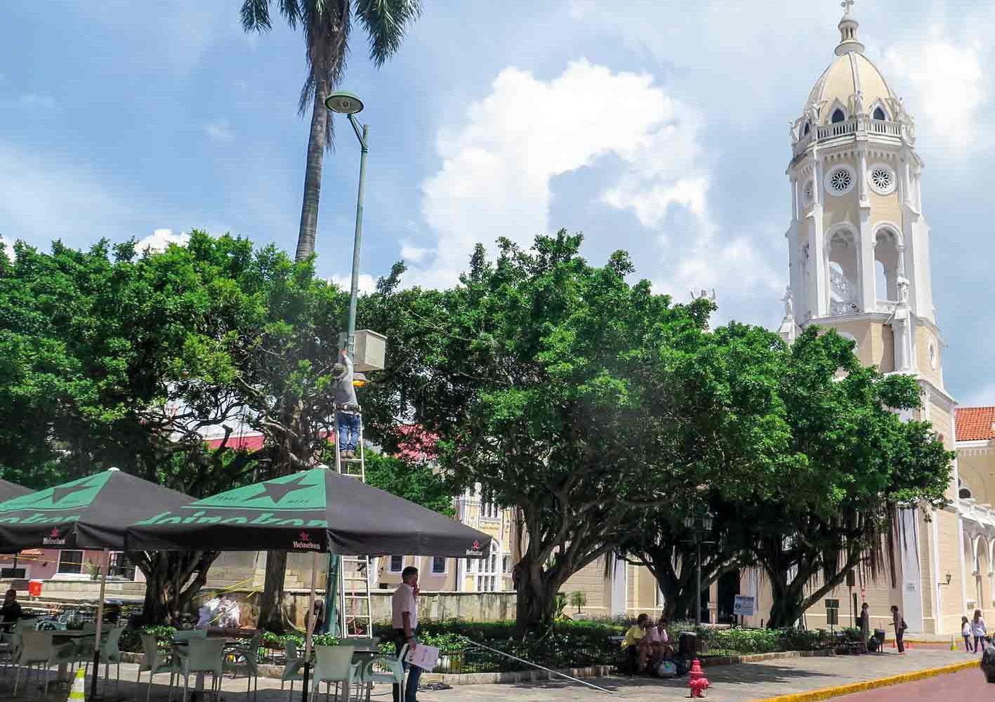 Kirche in Panama-City