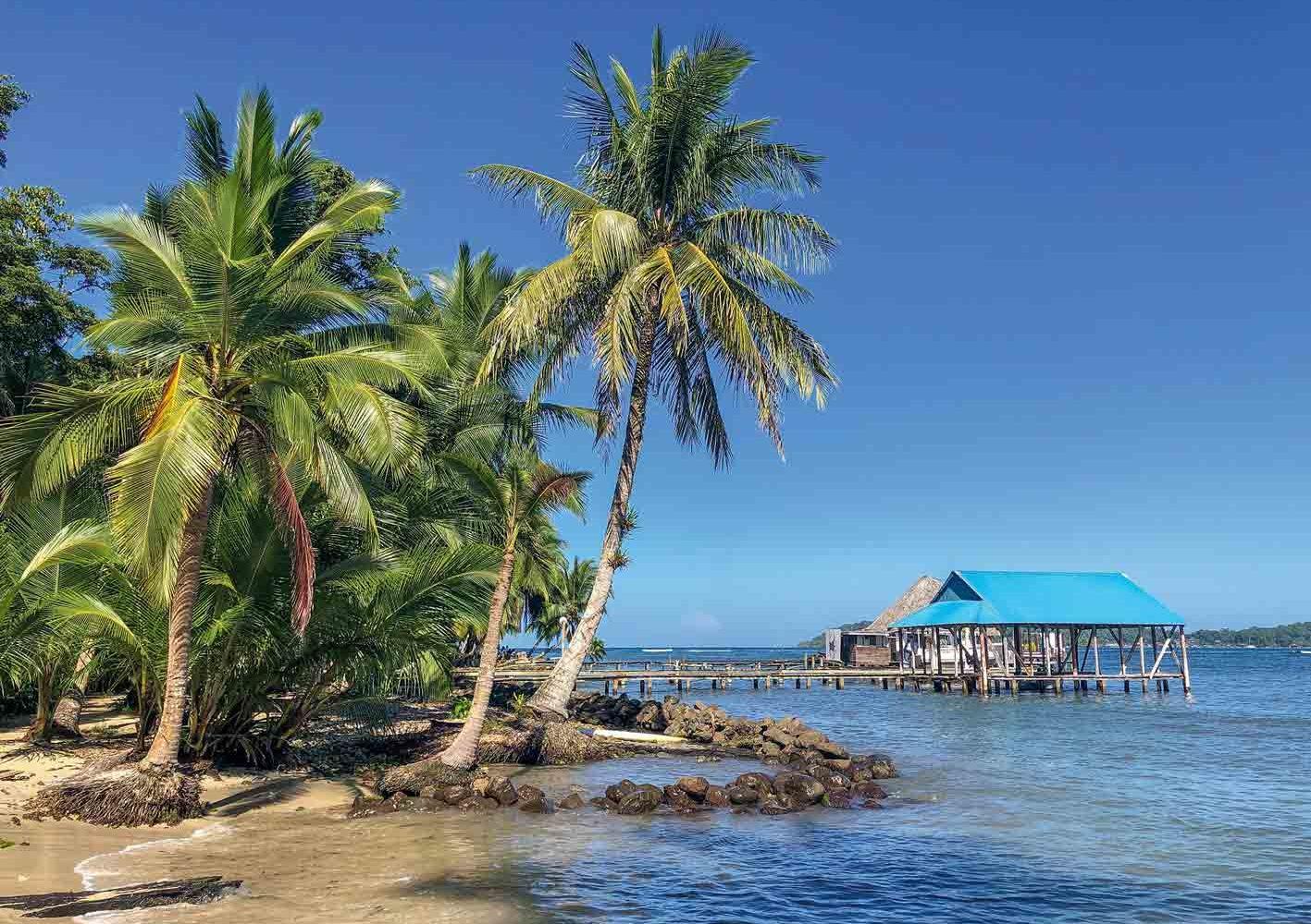 Strand in Bocas del Toro, Panama
