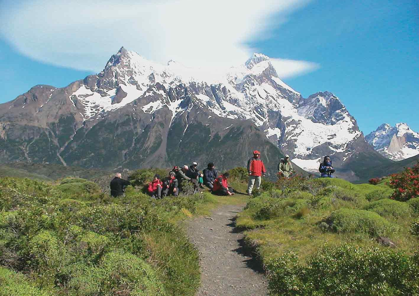 Patagonien Reise, Wandern im Torres del Paine-Nationalpark, Chile