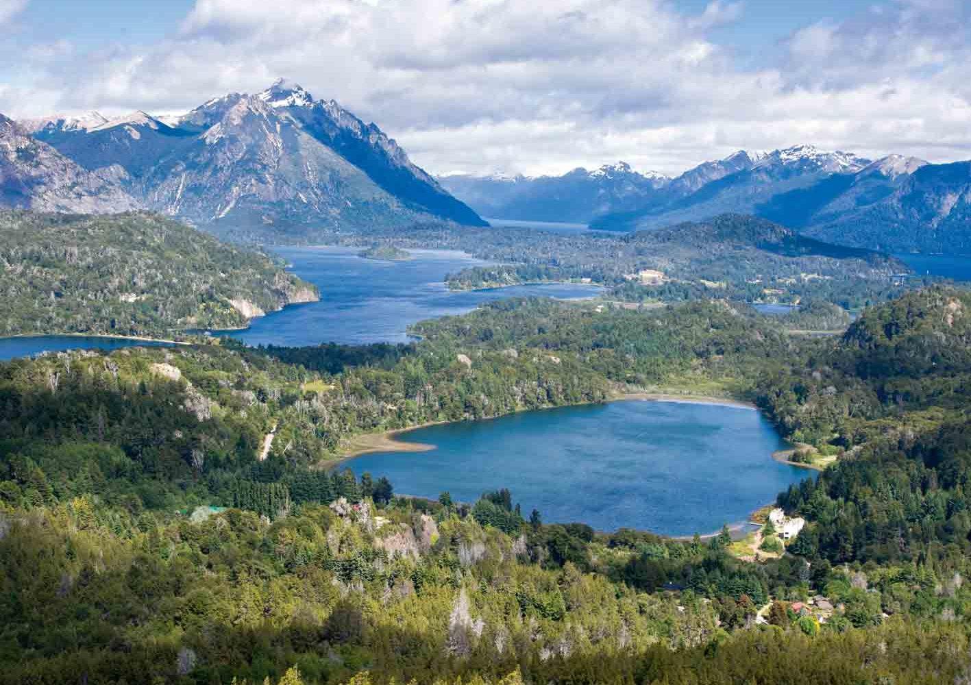 Anden- und Seenlandschaft in Bariloche