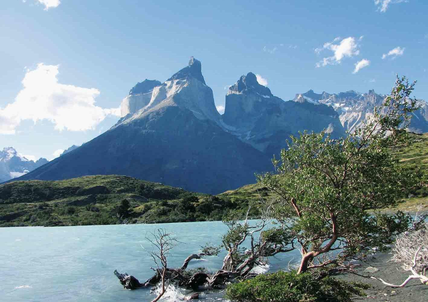 Sie unternehmen Wanderungen im Torres del Paine-Nationalpark