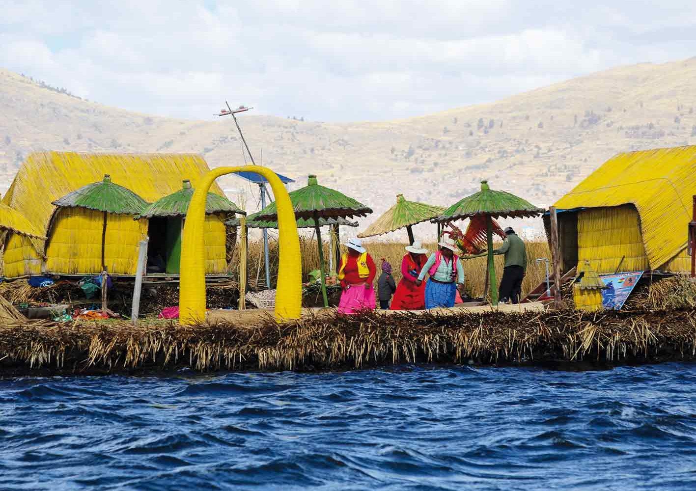 Uros am Titicaca-See, 7. Reisetag
