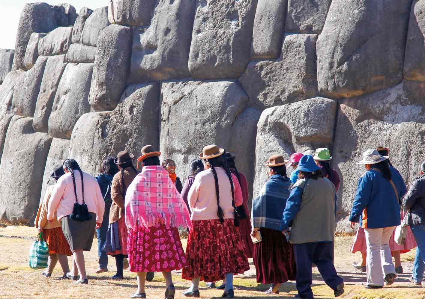 Inka-Stätte Saqsayhuamán