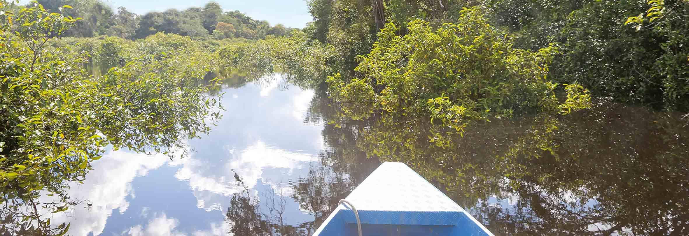 Per Boot durch den Amazonas, Peru