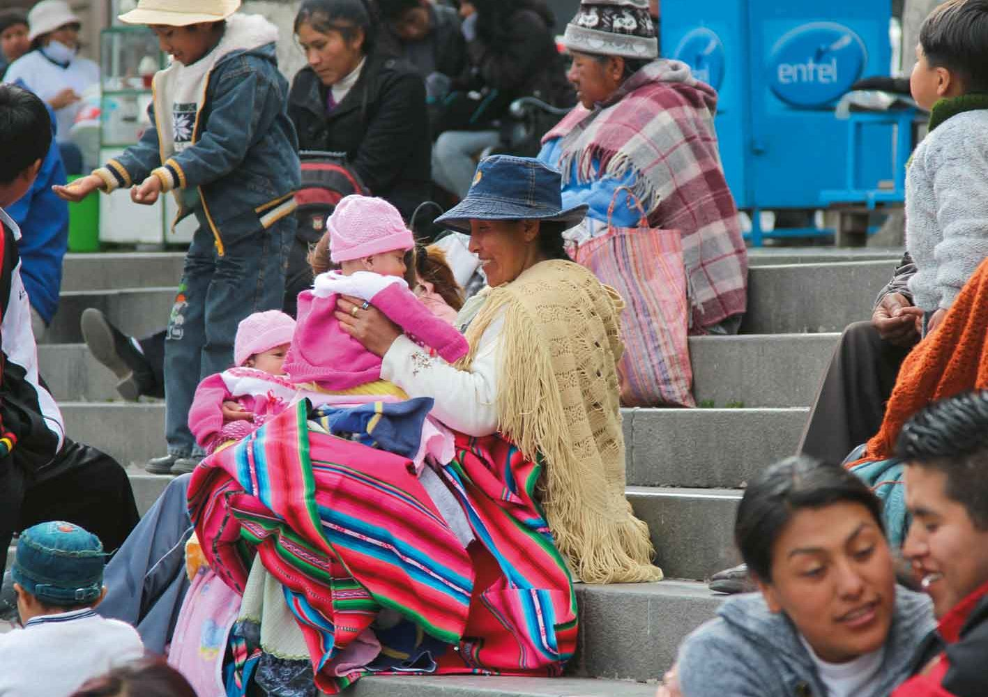 Südamerikanische Lebensfreude