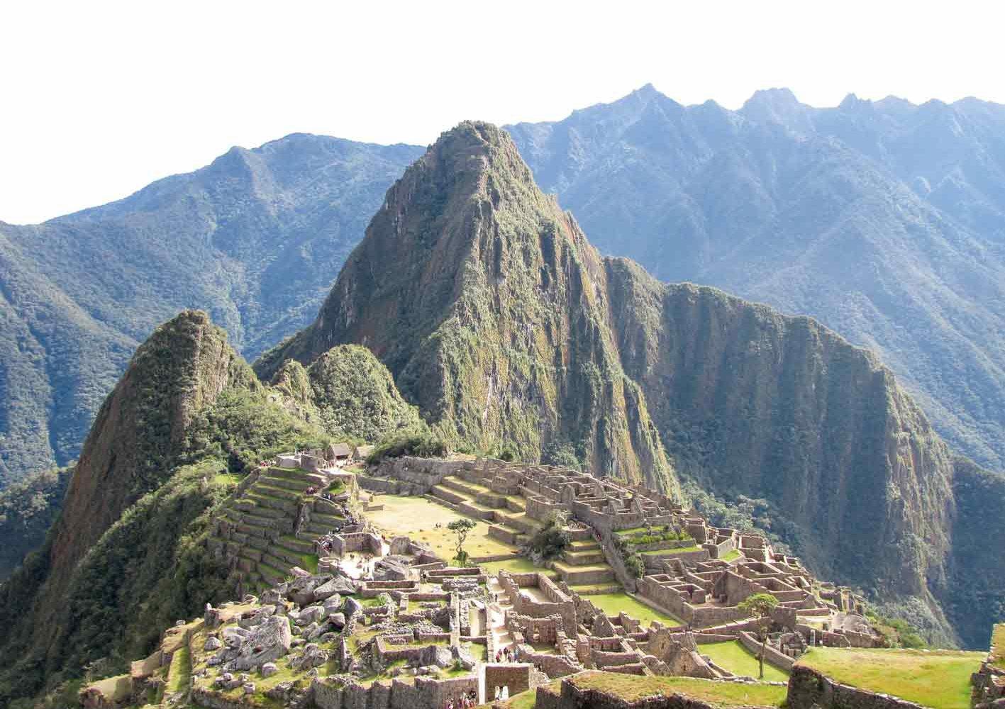 Berühmtes Machu Picchu, Peru