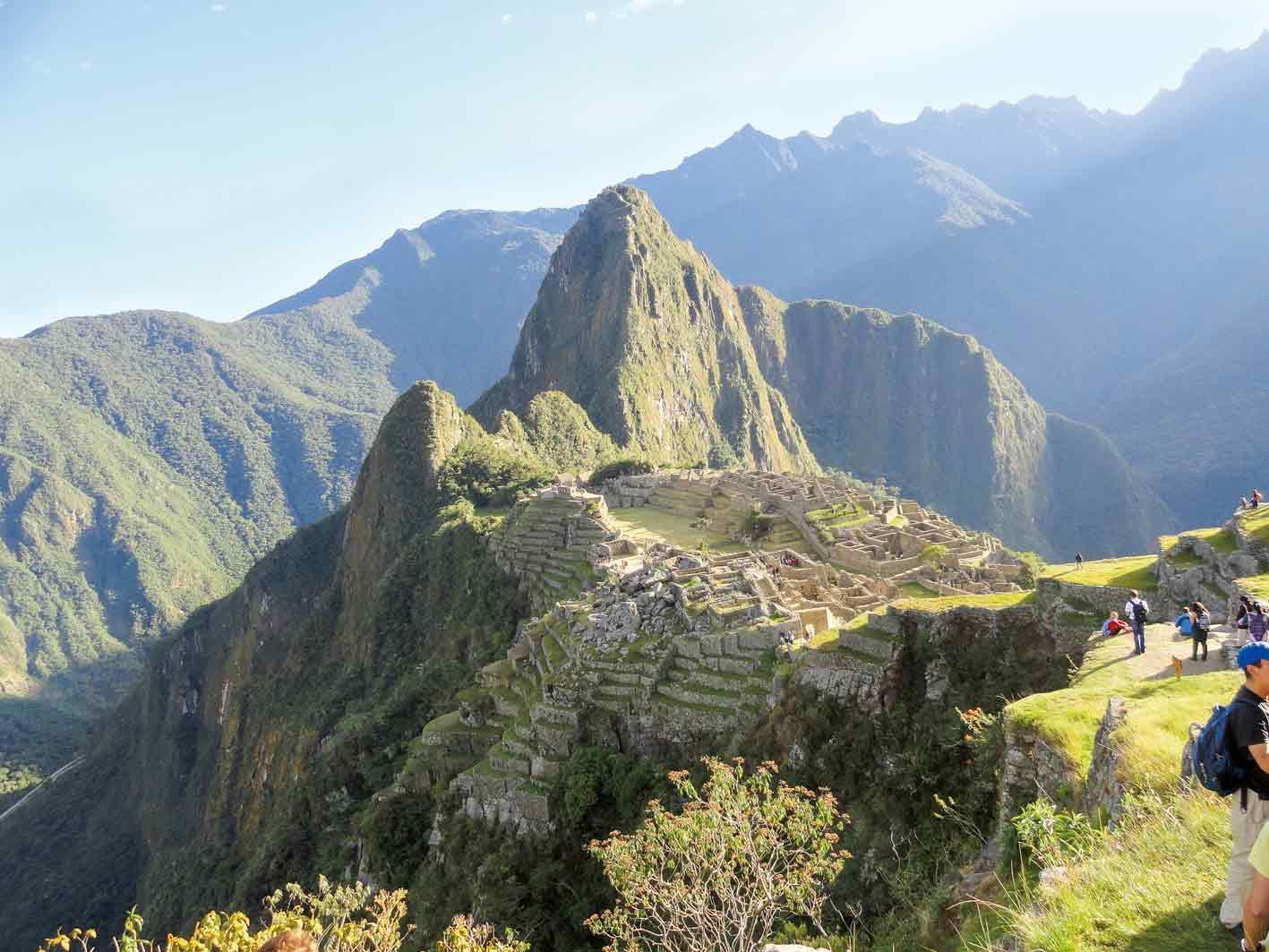 Besuch der Inka-Stätte Machu Picchu, Peru