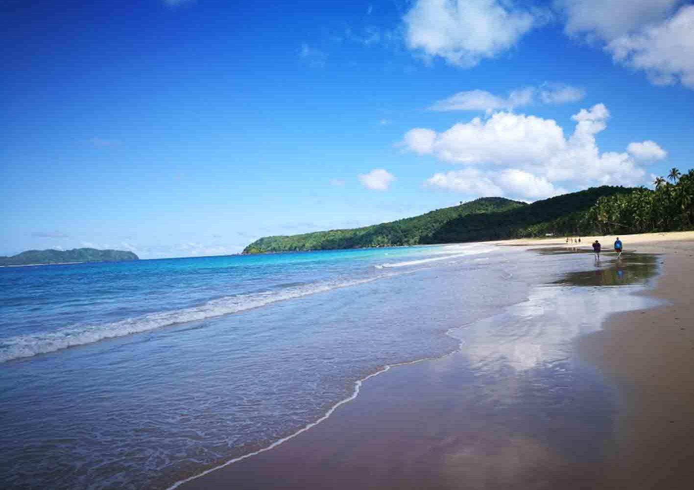 Malerischer Strand auf Palawan, Philippinen