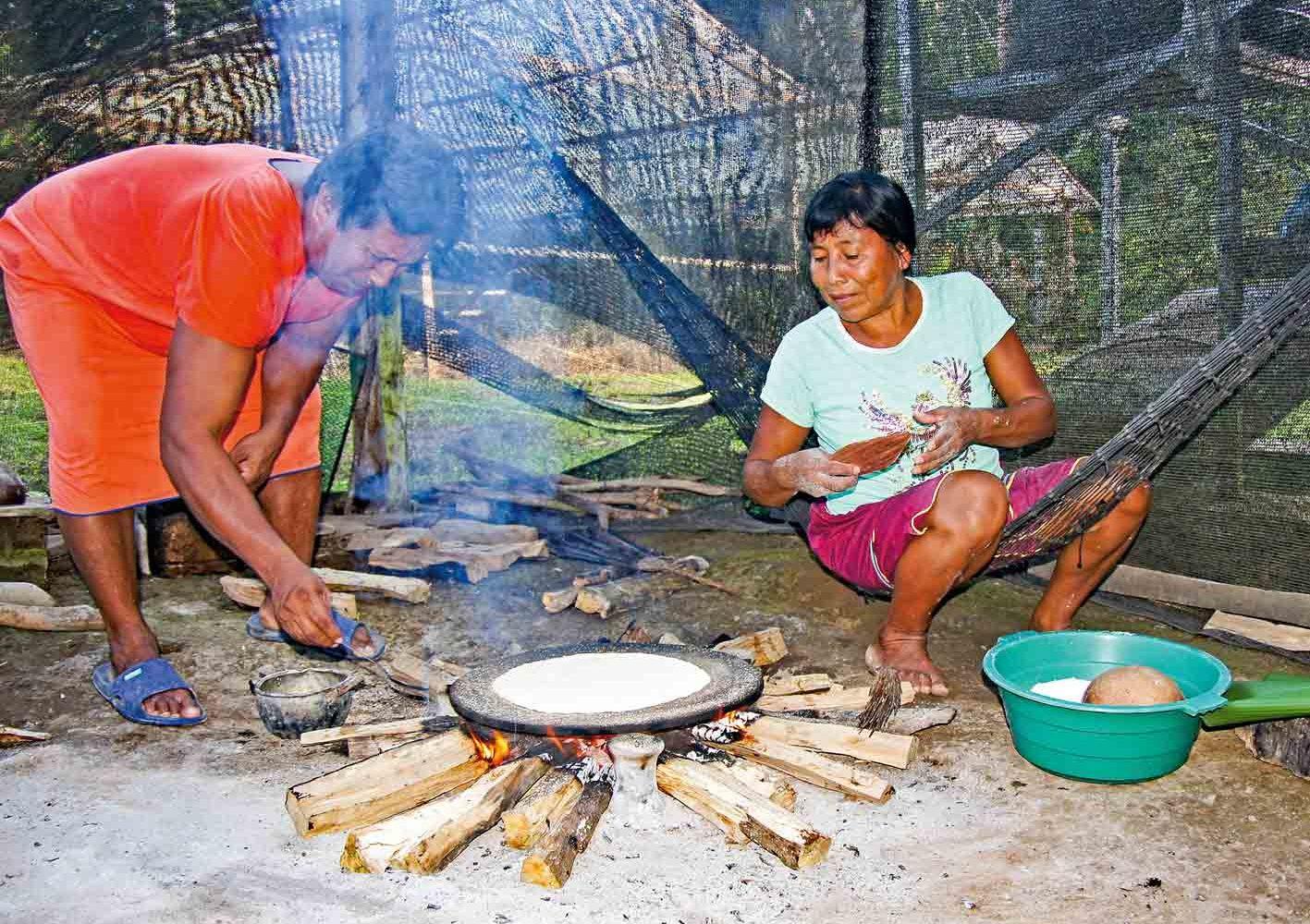 Einblick in das Leben der Indianer erhalten