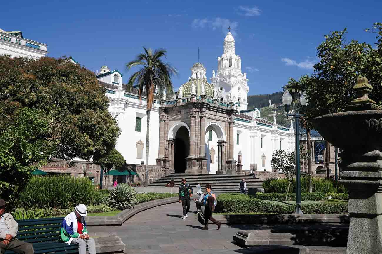 Ecuador: In Quito entdecken wir die schöne Altstadt.