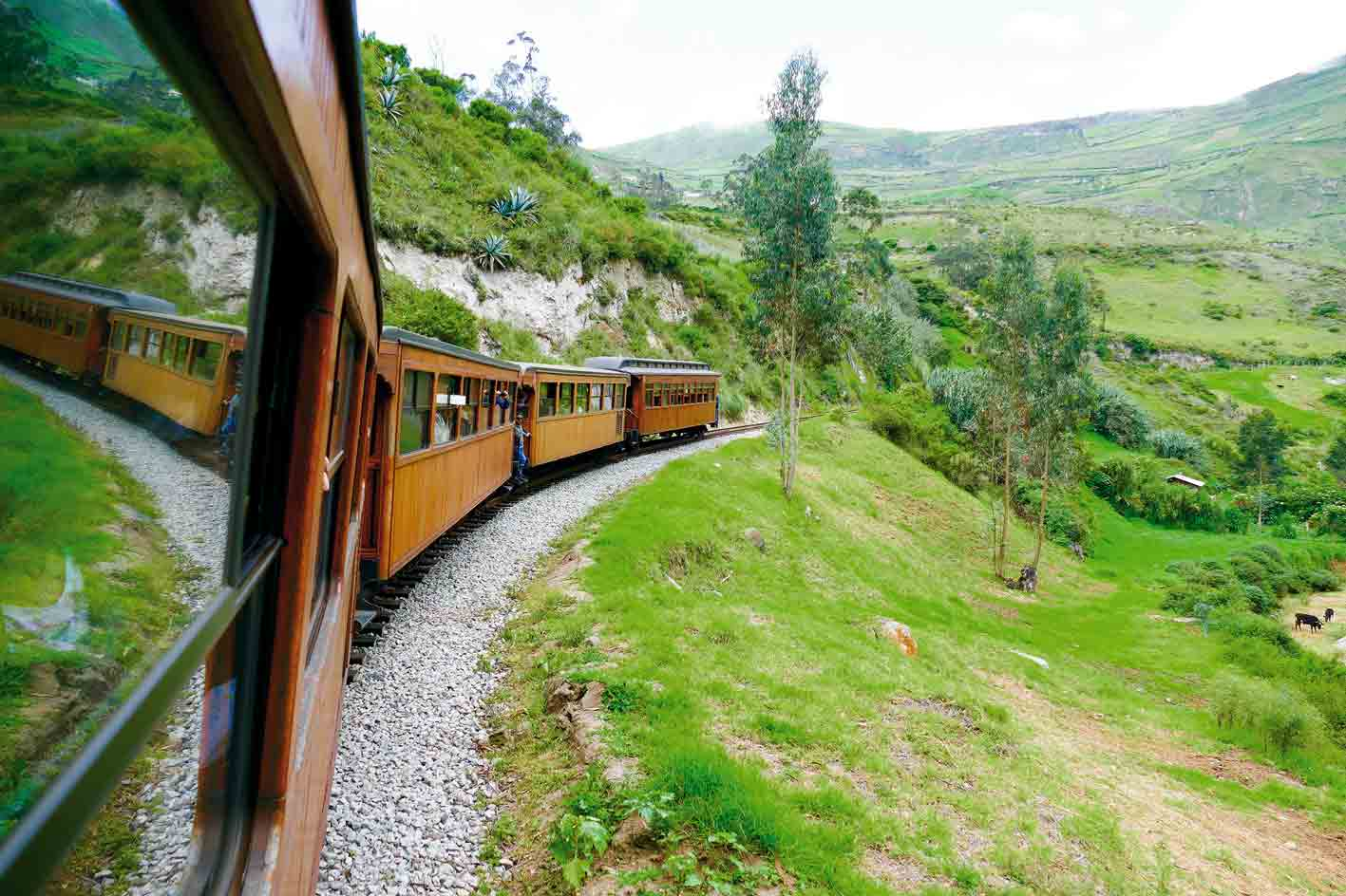 Zugfahrt zur Teufelsnase, Ecuador