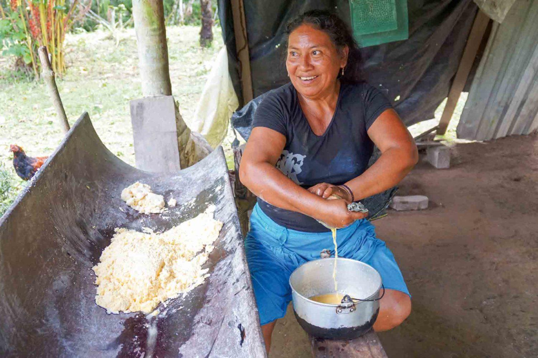 Cassava-Brot