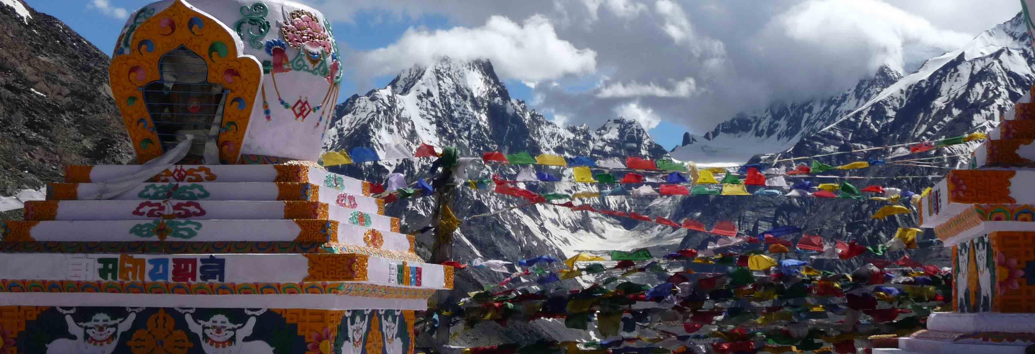 Majestätische Bergwelt in Ladakh