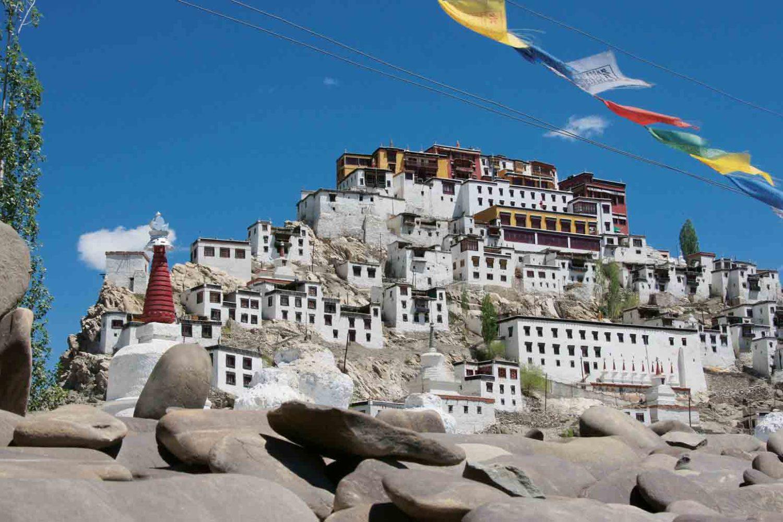 Kloster Thikse im Indus-Tal, Ladakh