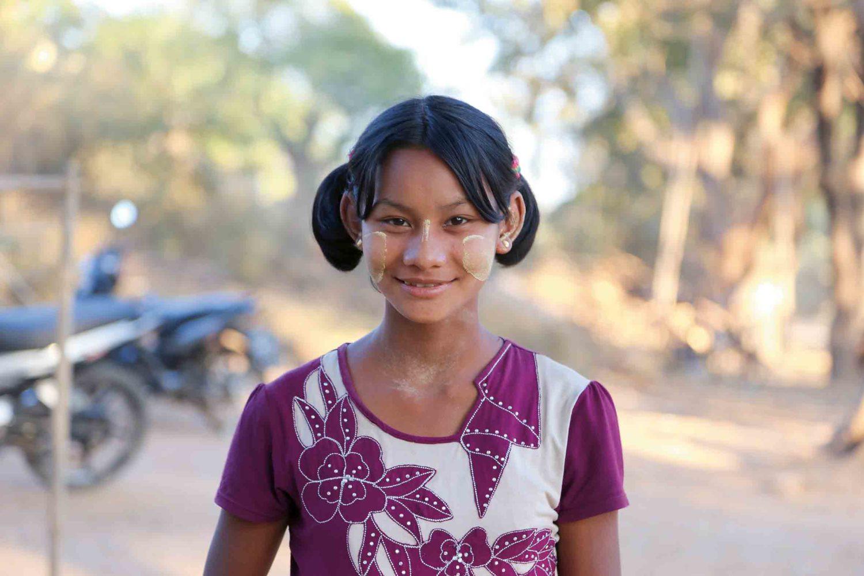 In Myanmar wird die Thanaka-Paste als natürlicher Sonnenschutz verwendet.