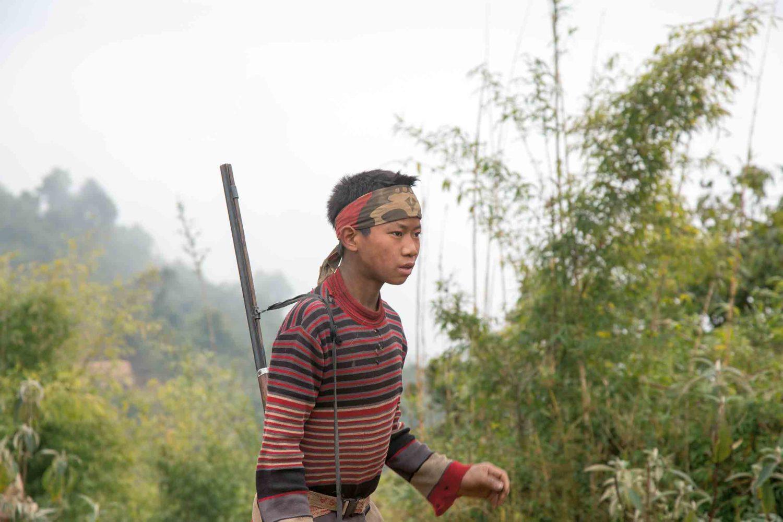 Zu Besuch im Nagaland, Myanmar