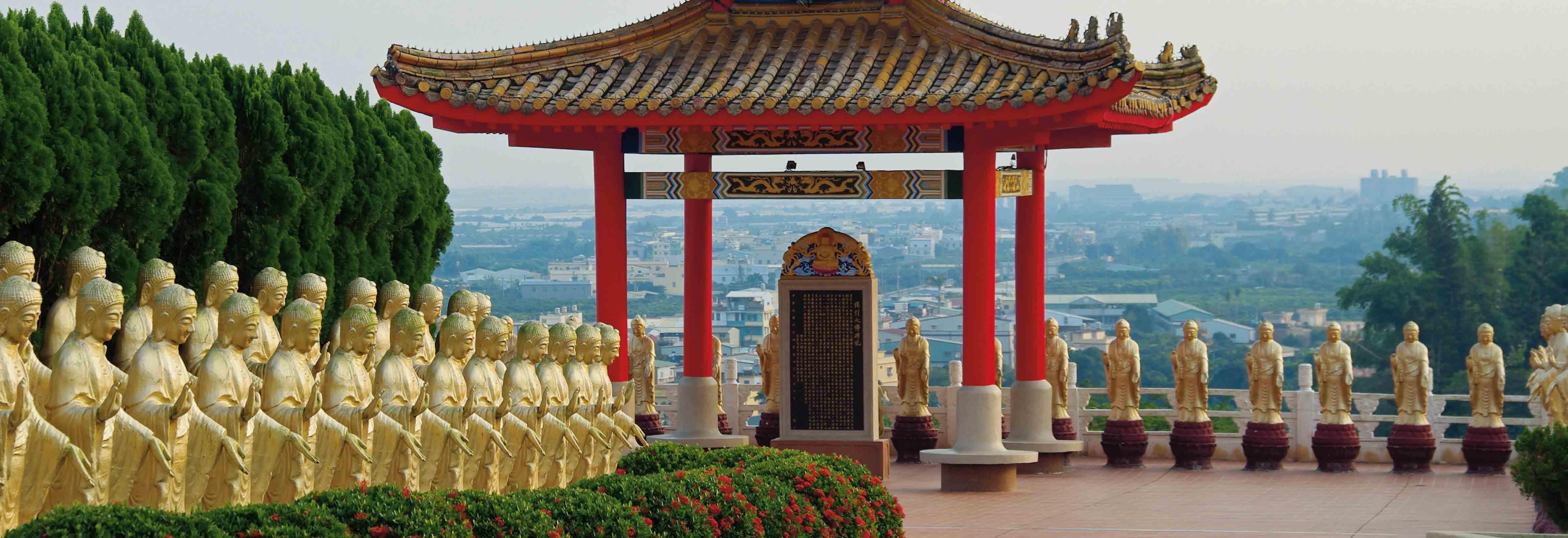 Kloster Fo Guang Shan, das grösste buddhistische Zentrum Taiwans