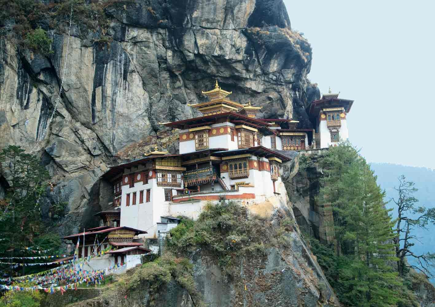 Exkursion zum Kloster Taktsang (Tigernest), Bhutan