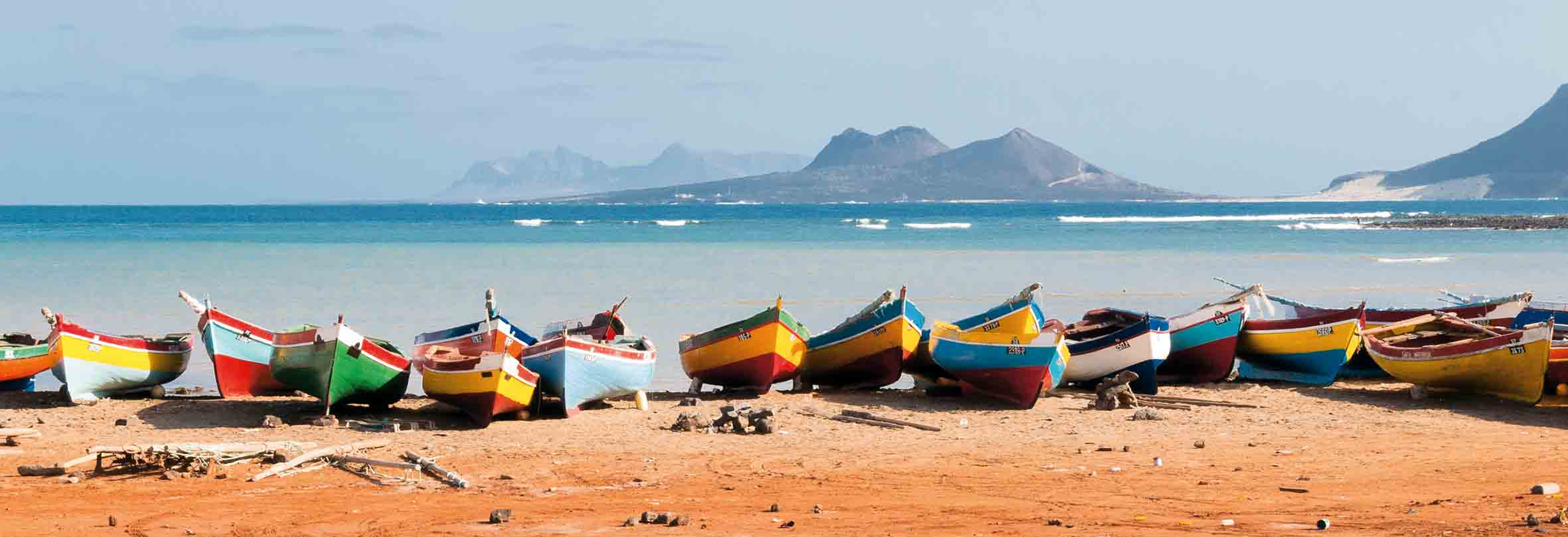 Bunte Schiffe, Cabo Verde