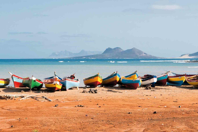 Fischerboote, Cabo Verde