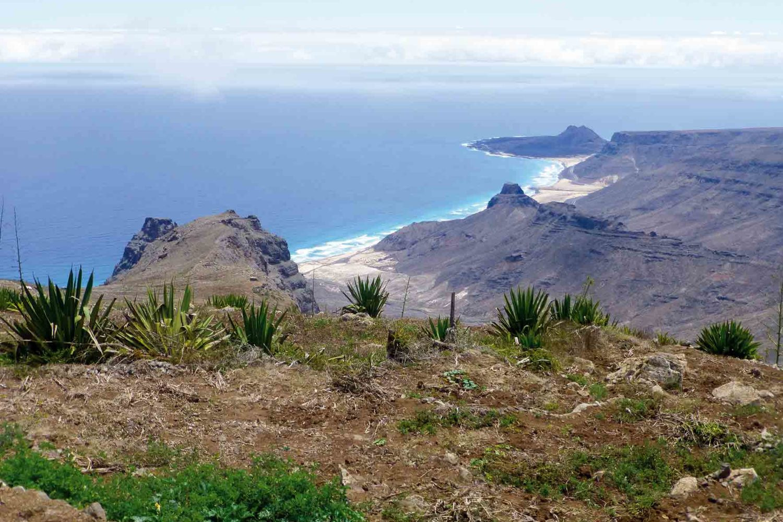 Aussicht vom Monteverde, Insel São Vicente, Cabo Verde