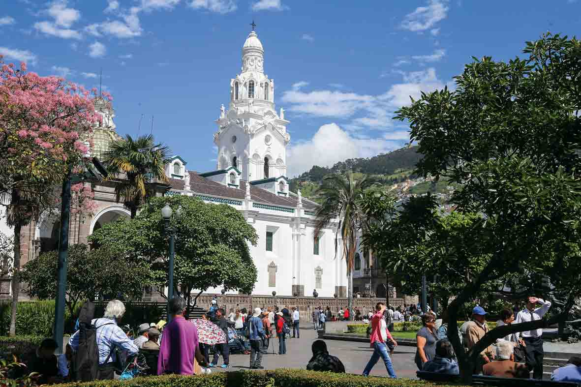 Plaza de Armas, Quito