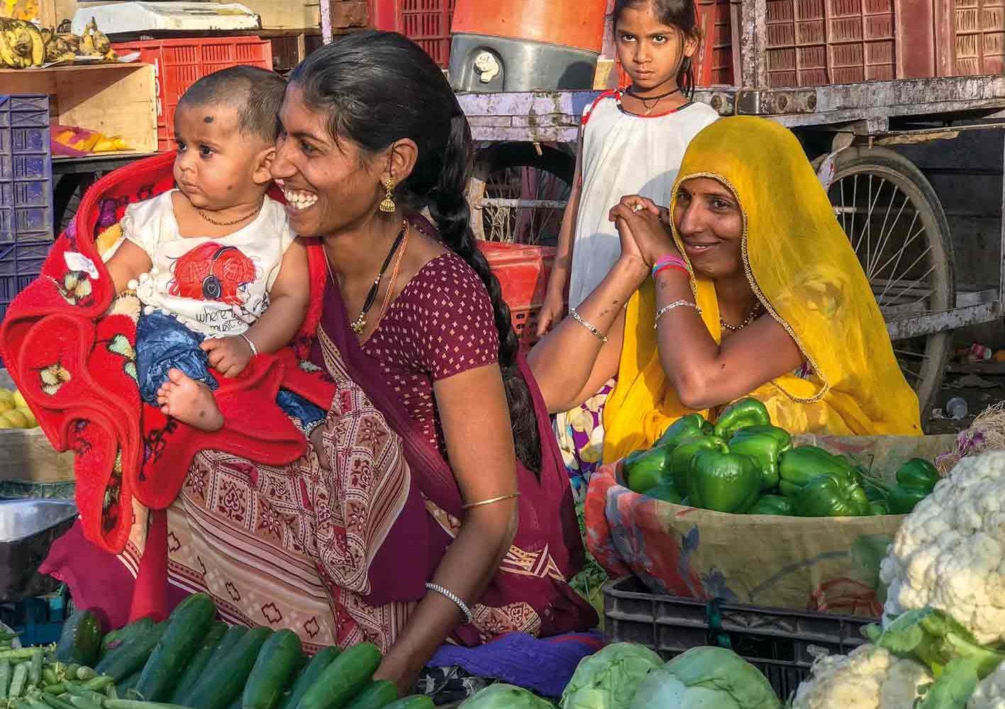 Bereichernde Begegnungen mit den Menschen Rajasthans, Indien