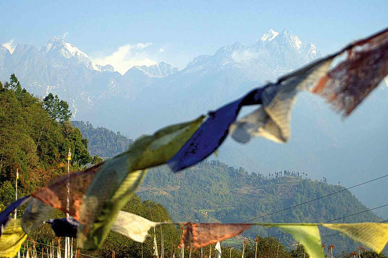 Majestätische Bergwelt in Sikkim: Kanchenjunga, 8586 m, Indien