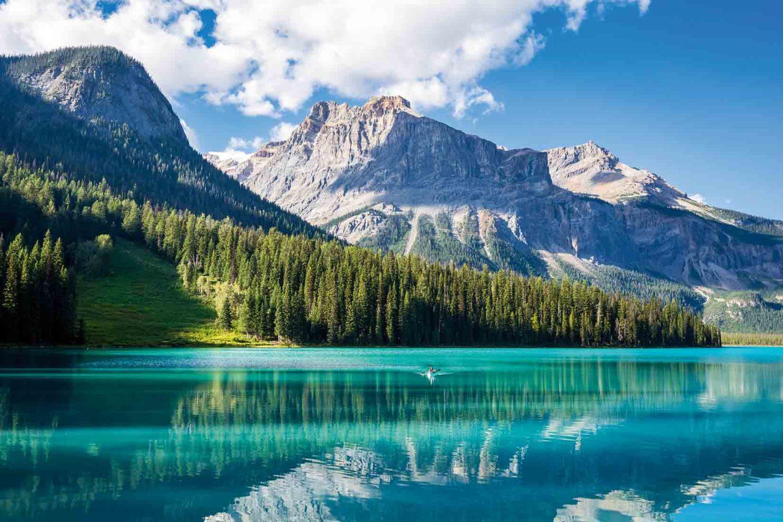 Wunderschöner Emerald Lake