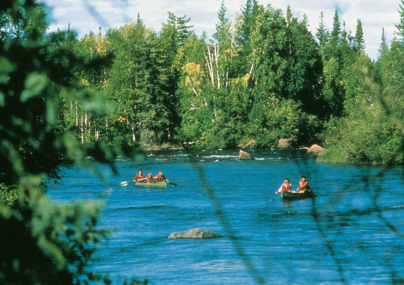 Yukon-Teslin-Fluss-Trekking – Natur pur!