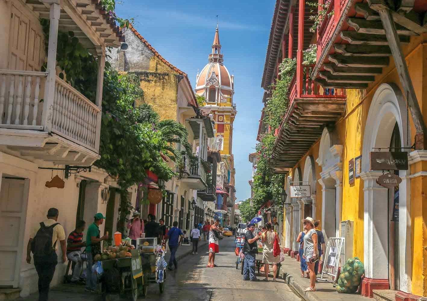 Schmucke Altstadt von CartagenaSchmucke Altstadt von Cartagena