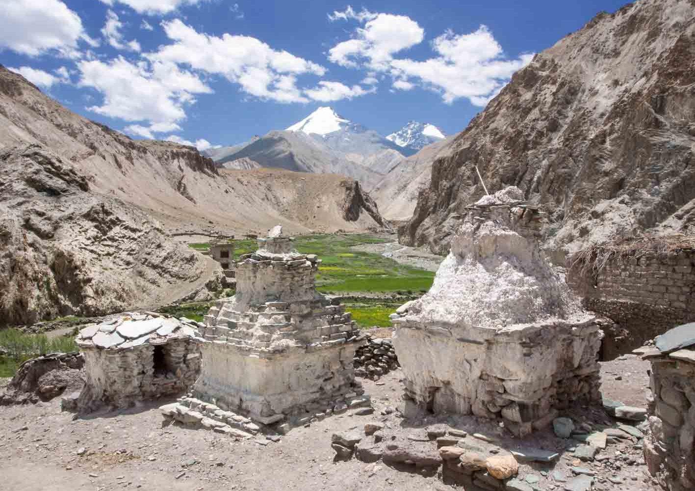 Einzigartige Bergkulisse in Ladakh