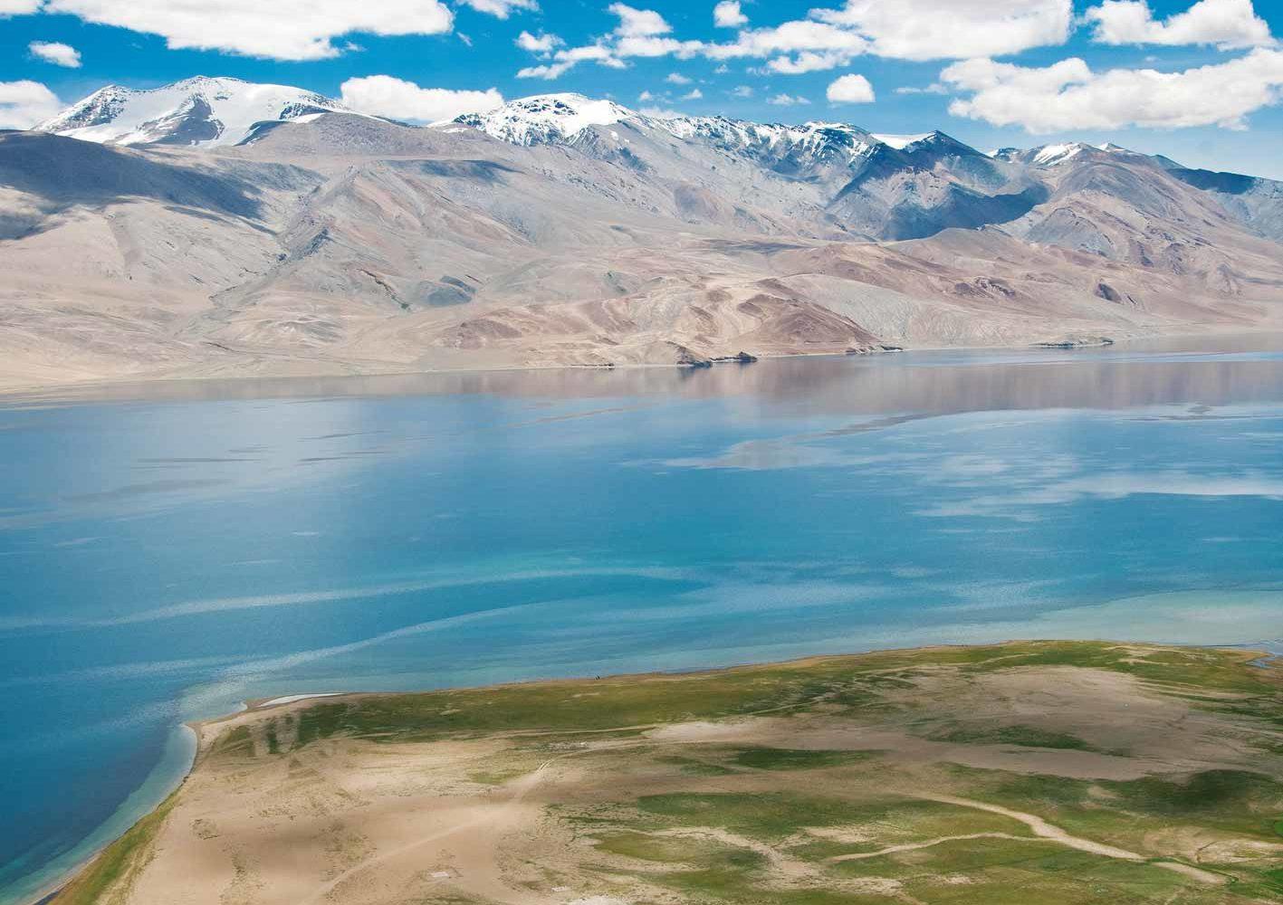 Wunderschöner Tso Moriri-See in Ladakh
