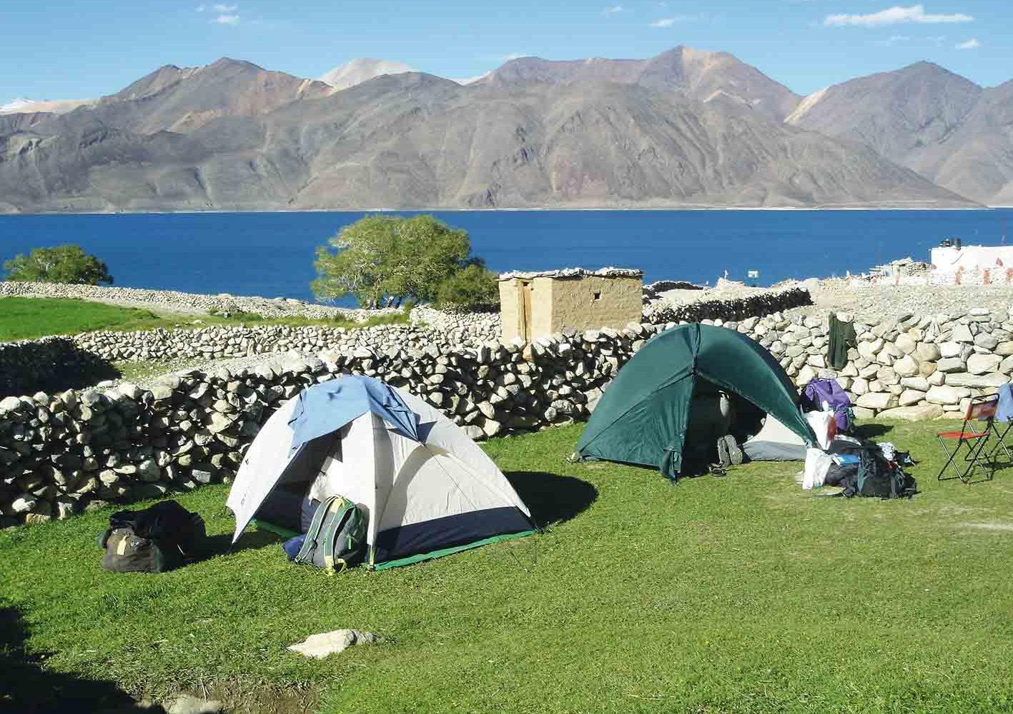 Lagerleben auf dem Trekking in Ladakh