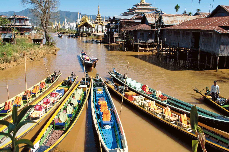 Am wunderschönen Inle-See, Myanmar
