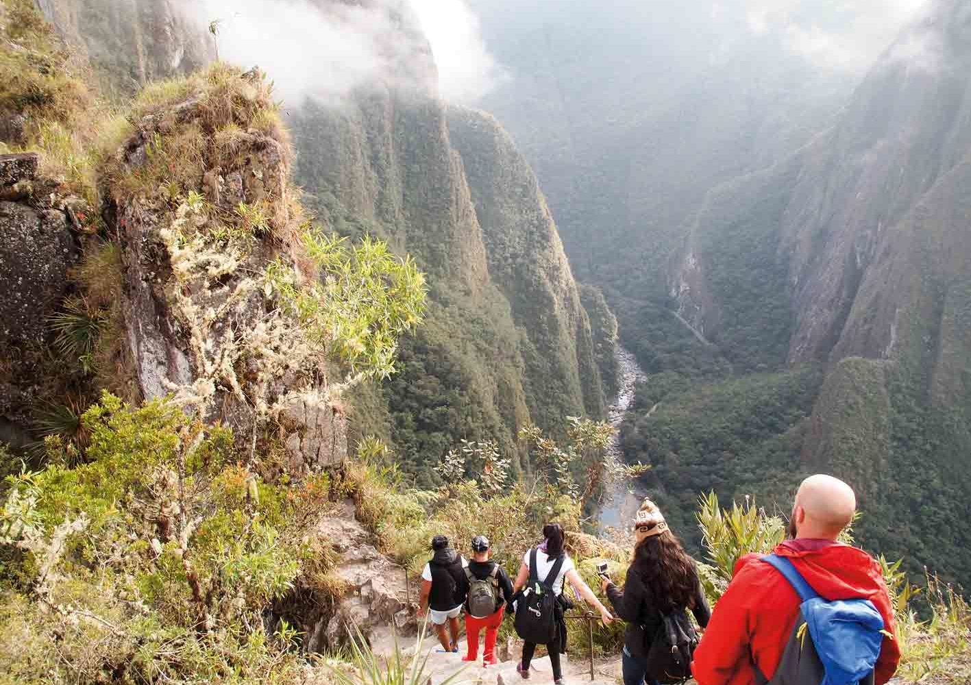 Freiwillige Wanderung zum Wayna Picchu, 16. Tag
