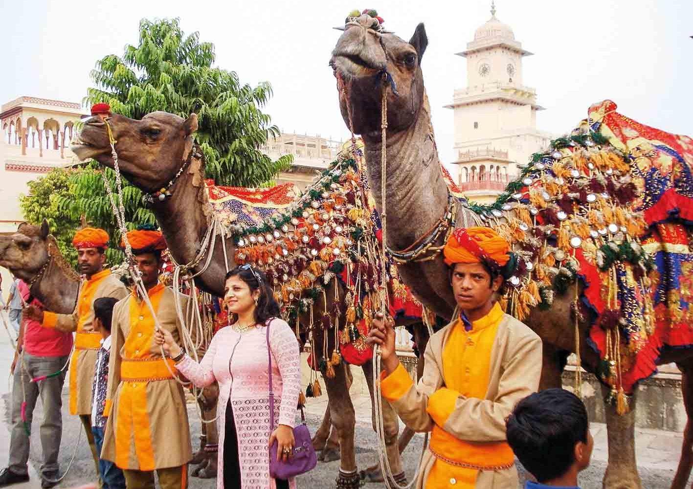 Rajasthan, Indien - ein Fest der Farben