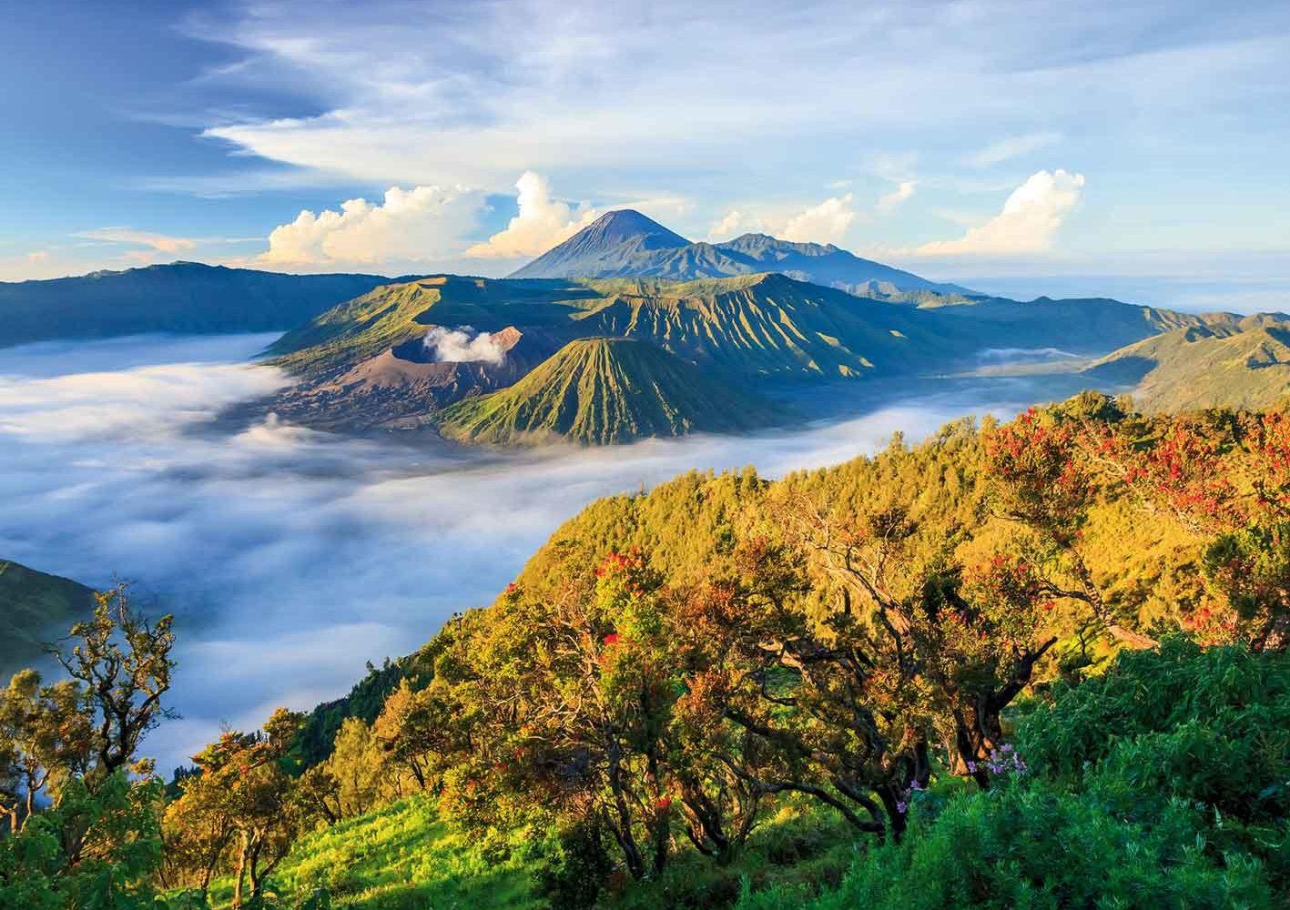 Indonesien: Sicht auf den Bromo-Vulkan, Java