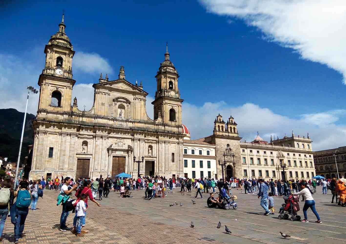 Plaza Bolívar in Bogota